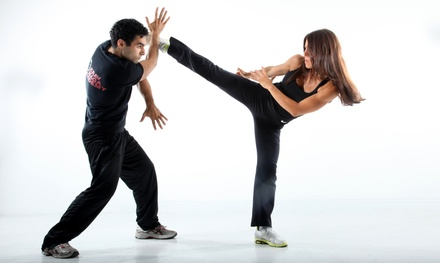 5 or 10 Krav Maga Classes or 1-Month Unlimited Membership at Krav Maga Academy (Up to 73% Off)