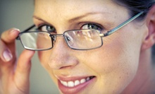 Exam with Credit Toward Eyewear or Fitting at Your Eyes Center (Up to 88% Off). Three Options Available.