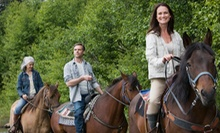 Trail Ride for Two, Four, or Six with Optional Buffet Dinner at Beaumont Ranch (Up to 56% Off)