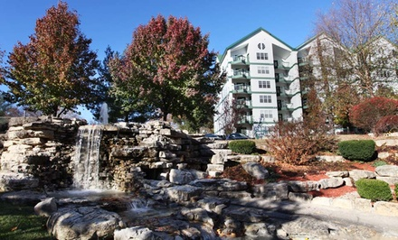 groupon daily deal - 2-Night Stay Up to Six in a Deluxe Queen Room or Two-Bedroom Townhouse at The Townhouses in Branson, MO
