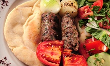 Middle Eastern Cuisine at Cedars of Lebanon Restaurant (Half Off). Two Options Available.