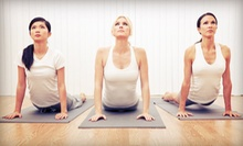 Five Classes or One Month of Unlimited Classes at Dang Good Yoga! (Up to 57% Off)
