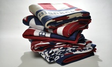 $12.99 for Americana Printed Microplush Throws ($50 List Price). Six Styles Available. Free Returns.