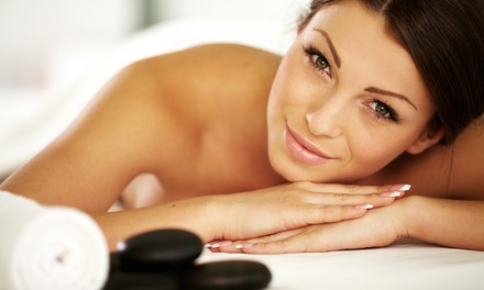 Premier Spa Treatment or Hot-Stone Facial at Saving Face and Body (Up to 57% Off)