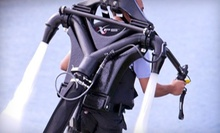 $149 for a 30-Minute Water-Propelled-Jetpack Session at Captain CJ's Jetpack Adventures ($300 Value)