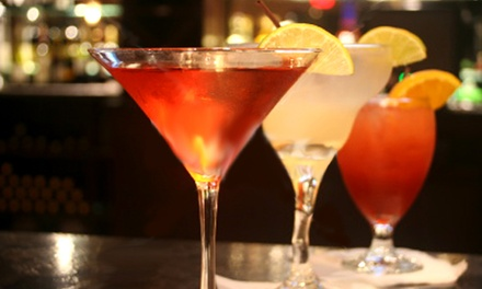Bar Bites and Drinks at Epic Lounge & Bistro (40% Off). Two Options Available.