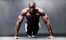 $93 for a Four-Week Boot-Camp Package and 24-Day Meal Plan at Live to be Fit ($345 Value)