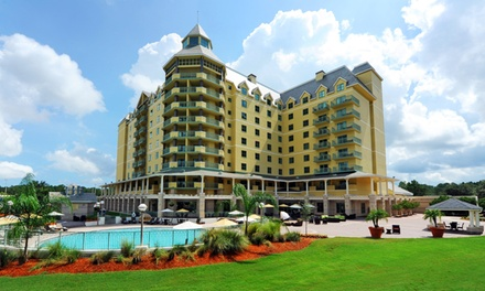 groupon daily deal - Stay at World Golf Village Renaissance St. Augustine Resort in Florida; Dates into June