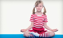 10 or 20 Children's Yoga Classes from Smiling Monkey Yoga at the Center for Living Peace (Up to 78% Off)