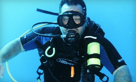 Discover Scuba Introductory Course or PADI Open-Water Scuba-Certification Course at Just Add H2O (Up to 63% Off)