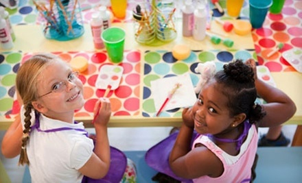 $120 for Pottery Painting Party for Eight at Potteryland ($240 Value) 