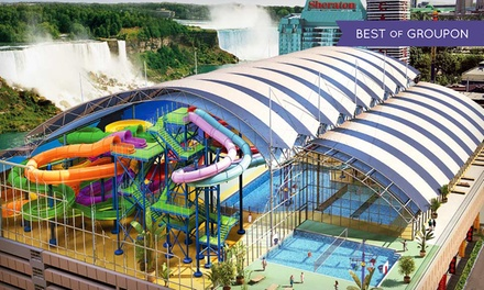 Stay with Mini Golf and Optional Water-Park Passes at Skyline Inn Niagara Falls in Niagara Falls, ON. Dates into May.