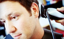 One or Three Men's Haircuts with Shampoo and Style at Salon Edge (Up to 68% Off)