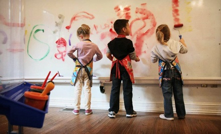 One- or Three-Month Family or Single-Child Membership to ArtBeast (Up to 51% Off)