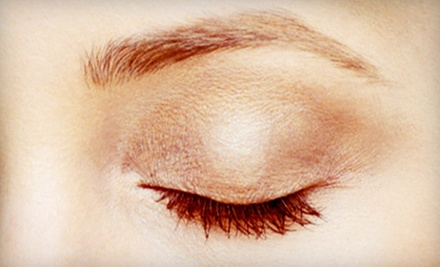 Permanent Upper or Lower Eyeliner, Lip Liner, or Eyebrow Makeup at A Permanent Solution by Theresa (Up to 58% Off)