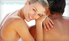 One Month of Unlimited Bed Tanning, or One or Three Airbrush Tans at Tan Line Salon (Up to 62% Off)
