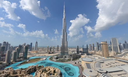 groupon daily deal - ✈ 7-Day Tour of Dubai with Airfare, Accommodations, and Guided Tours. Price per Person Based on Double Occupancy.