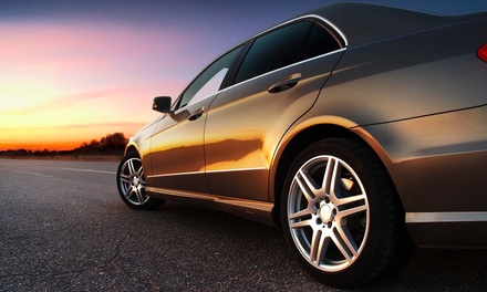 Window Tinting at Barbary Customs Automotive Shop LLC (Up to 51% Off). Two Options Available.