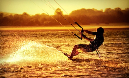 $125 for a Kitesurfing Lesson for Two at FB Watersports ($300 Value)