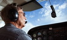 $139 for a 90-Minute Private Flight-Lesson Package at Global Aviation Corp. ($355 Value)