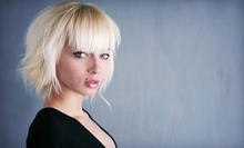 Haircut and Style with Optional Partial or Full Highlights or Color at Jim Ostrosky Salon (Up to 62% Off)
