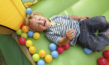 Open-Bounce Sessions for One or Two with Snacks at Jumpin Jack's Inflatable Playland (Up to 53% Off)
