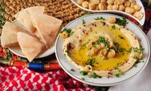 Mediterranean Food at Soumarelo (Half Off)
