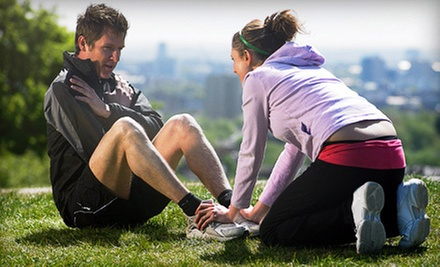 One or Three Months of Boot-Camp Sessions at Dinami Fitness Camp (Up to 89% Off)