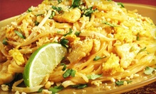 Thai, Cajun, and Caribbean Cuisine at Jambalaya Restaurant (Half Off). FourOptions Available.