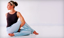 10 or 20 Classes at Get It Done Yoga & Fitness Studio (Up to 64% Off)