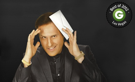 """The Mentalist"" Magic Show for One or Two at Saxe Theater (Up to 80% Off)"