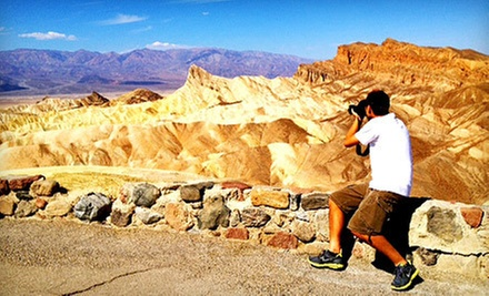 Day Tour for One, Two, or Four of Death Valley, Ghost Town, or Zion Canyon from Bindlestiff Tours (Up to 54% Off)