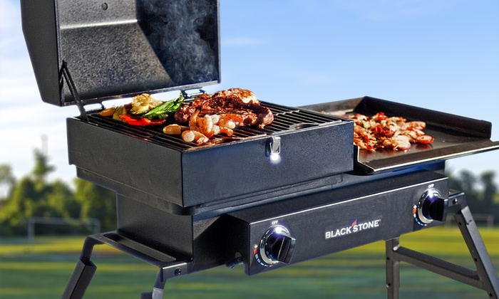 Blackstone Tailgater Grill With Carry Bag Groupon