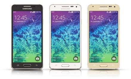 Samsung Galaxy Alpha 32GB 4G LTE Smartphone (GSM Unlocked)