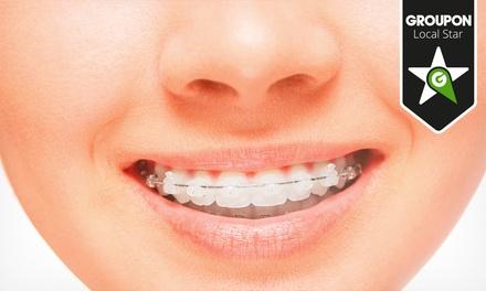 Smile Centre — Braga: aparelho dentário fixo metálico ou estético e seis consultas desde 74,90€