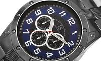 GROUPON: Joshua & Sons Men's Multifunction Bracelet Watch Joshua & Sons Men's Multifunction Bracelet Watch