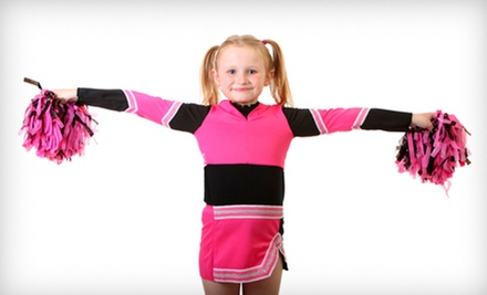 $89 for 12 Weeks of Cheer Dance Classes at CheerDanz ($180 Value)
