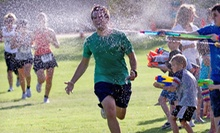 $39.99 for Two Entries Into the Splash Mob 5K on Saturday, July 20 at Big Surf Water Park (Up to $80 Value)