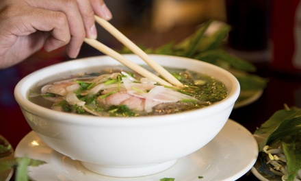 Vietnamese Cuisine for Two or Four at Pho One-O Restaurant & Lounge (Up to 40% Off)