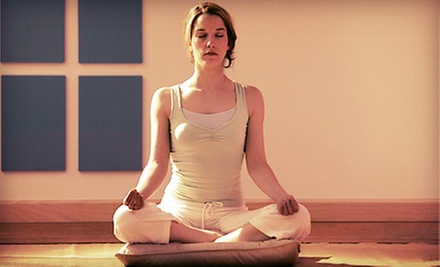 Two or Four Weeks of Unlimited Yoga Classes at Breathe Wellness (Up to 89% Off)
