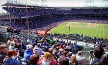 Rooftop View of Chicago Cubs Game at 3639 Wrigley Rooftop (Up to 51% Off). Six Games Available.