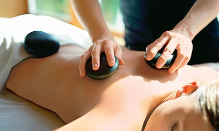Hot-Stone Massage and Skincare Treatments at Ageless Skin Solutions (Up to 57% Off). Four Options Available.