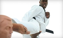 Five Drop-In Classes or One Month of Unlimited Classes at Jung's Professional Tae Kwon Do (Up to 75% Off)