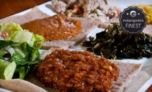 Ethiopian Cuisine for Two or Four at Major Restaurant (Half Off)