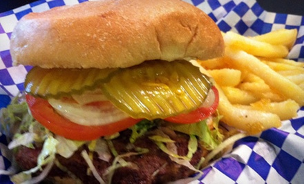 Deli Food at Uncle Bo&#x27;s Hamburgers &amp; Deli (Up to 53% Off). Two Options Available.