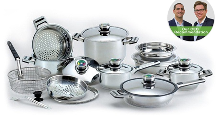 Groupon goods: Royal Diamond Cookware Set, Including Delivery