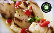 Mediterranean Dinner with Appetizers and Entrees for Two or Four at Ethos Restaurant (Up to 53% Off)