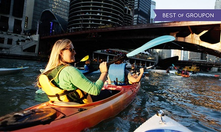 Classic Architecture/Historical Kayak Tour or Shady Chicago Kayak Tour for Two or Four from Wateriders (50% Off)