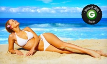 One or Three Custom Airbrush-Tanning Sessions at SunSpray Airbrush Tanning by Kathryn (Up to 56% Off)