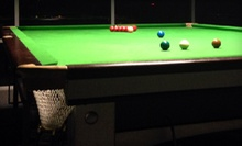 Snooker and American Food for Two or Four at Snooker 147 Bar &amp; Grill (Up to 53% Off)
